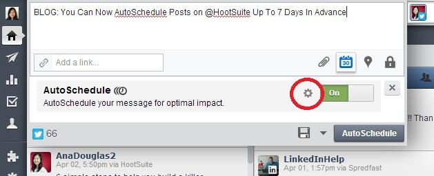 HootSuite AutoSchedule 2